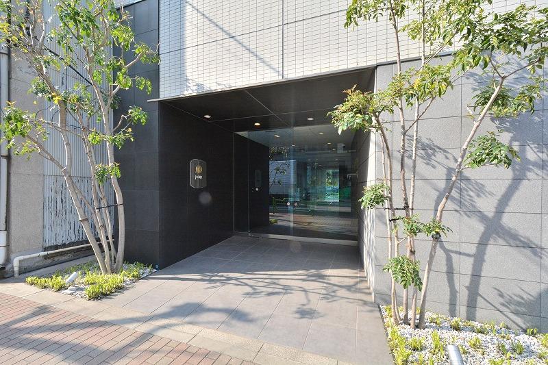 ジュイール東京八丁堀のエントランス2