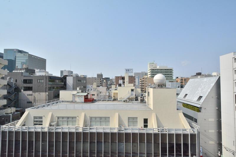 ステュディオ日本橋8階バルコニーからの眺望