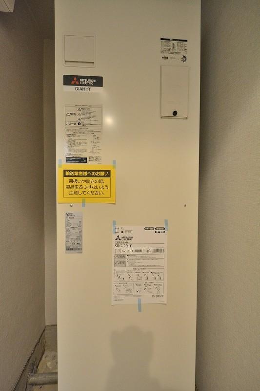 ステュディオ日本橋の交換した電気温水器