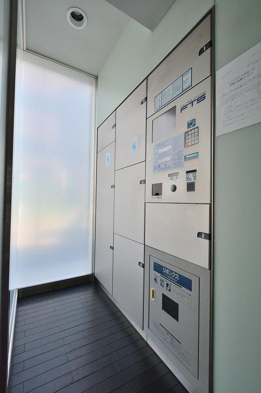 ウィルローズ東京ラルーナの宅配ボックス