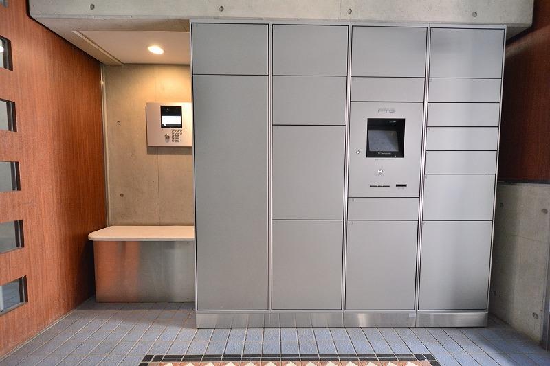 ラヴェンナ日本橋の宅配ボックスとオートロック