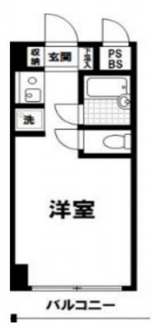 日本橋ロイヤルプラザ4階の間取り図