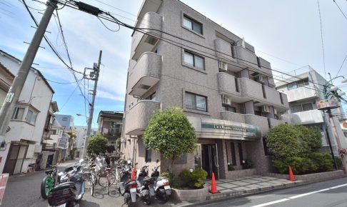 ライオンズマンション渋谷本町の外観
