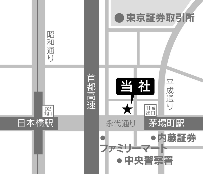 株式会社slopeのアクセスマップ